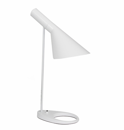 Reproduction AJ Table Lamp - White