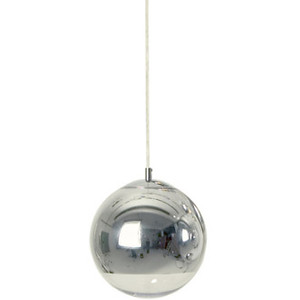 "Reproduction 12"" Tom Dixon Mirror Ball Lamp - Chrome"