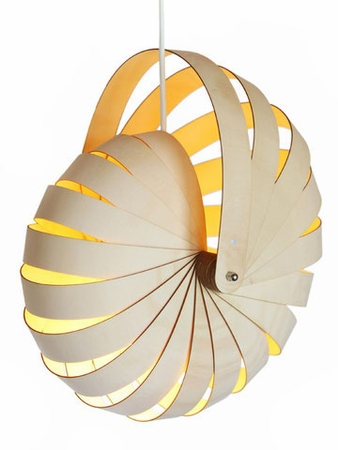 Reproduction Nautilus Shell Lamp