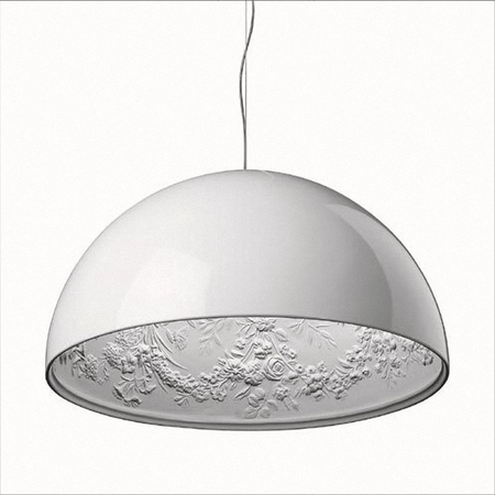 "Reproduction Skygarden Lamp - 24"" (60 cm) Medium - White"