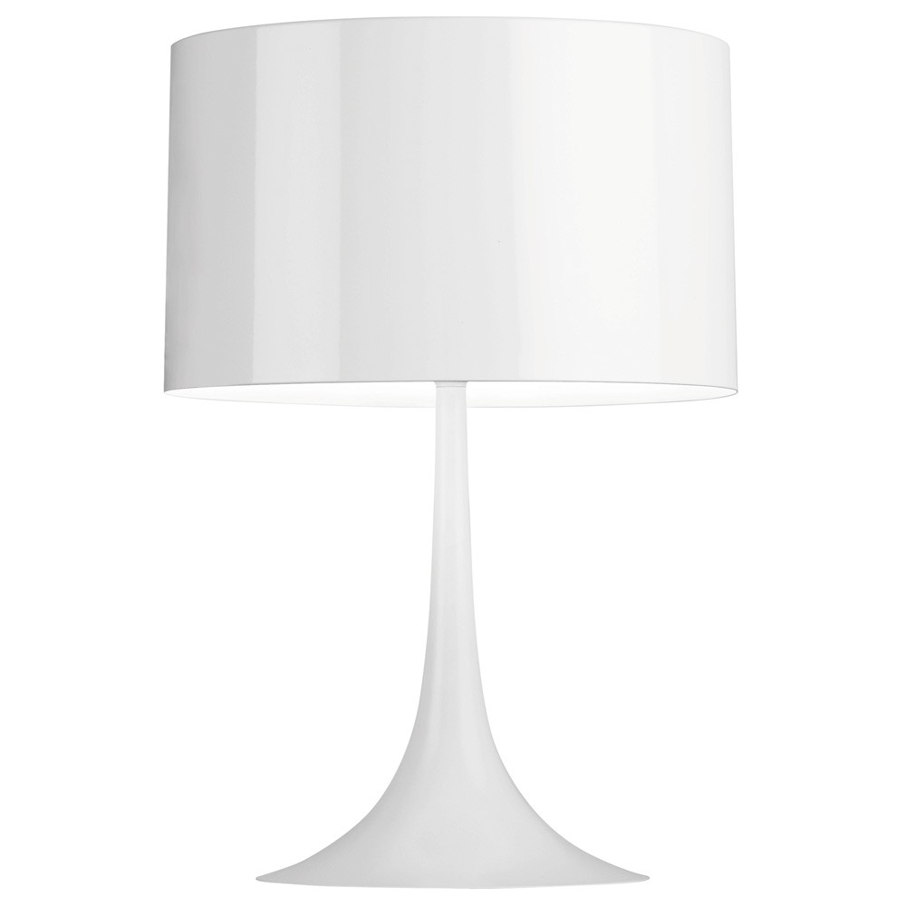 Reproduction Spun Table Lamp   WhiteReplica   Spun Table Lamp   White. Flos Table Lamp Replica. Home Design Ideas
