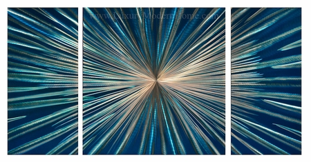"Speed of Light - 24"" x 48"" Metal Wall Art"