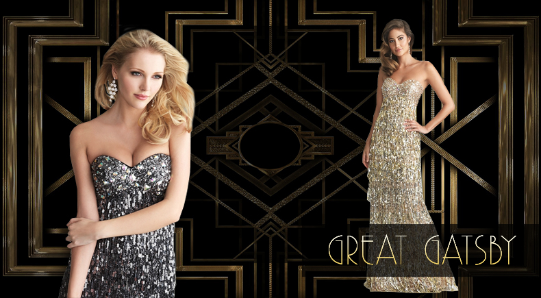 Great Gatsby Images great gatsby themed prom dresses - dressprom