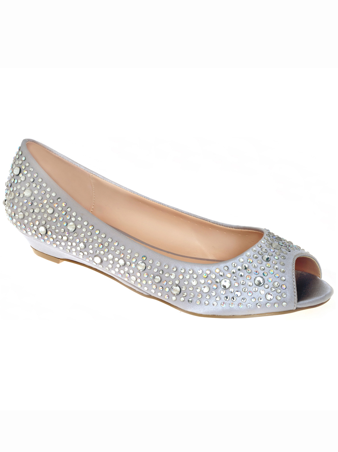 your shoes 508 kennedy silver prom flats dressprom net