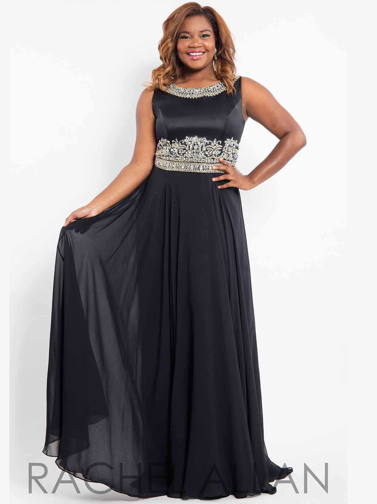 Black and gold plus size prom dresses - Best dresses collection