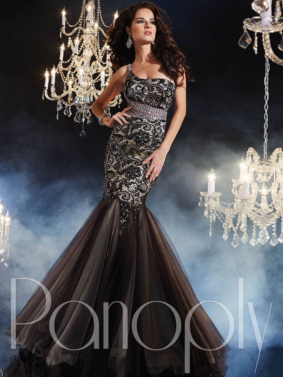 One Shoulder Mermaid Prom Dress By Panoply 44236 : DressProm.net