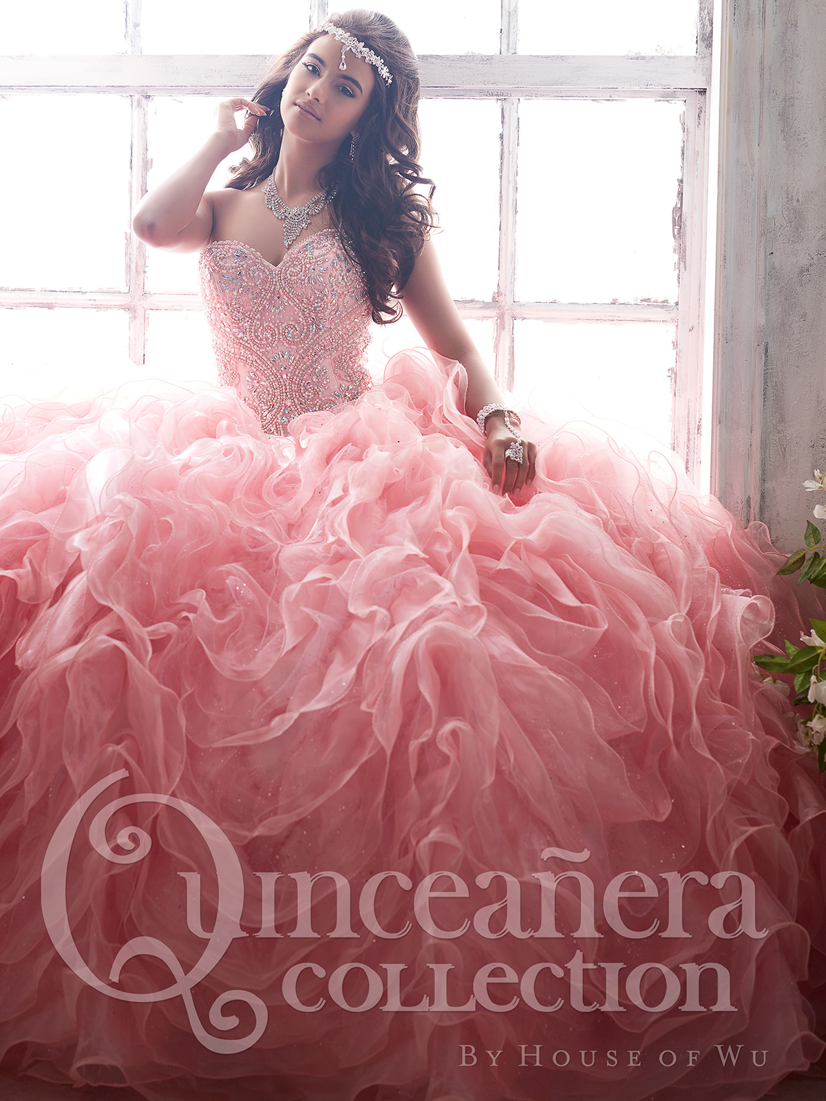 Peach colored quince dresses tiffany