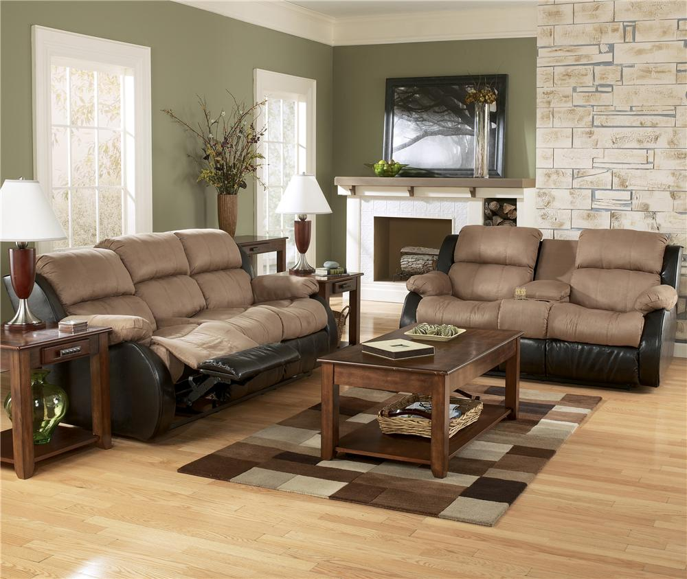 Ashley living room furniture modern house for 4 living room chairs