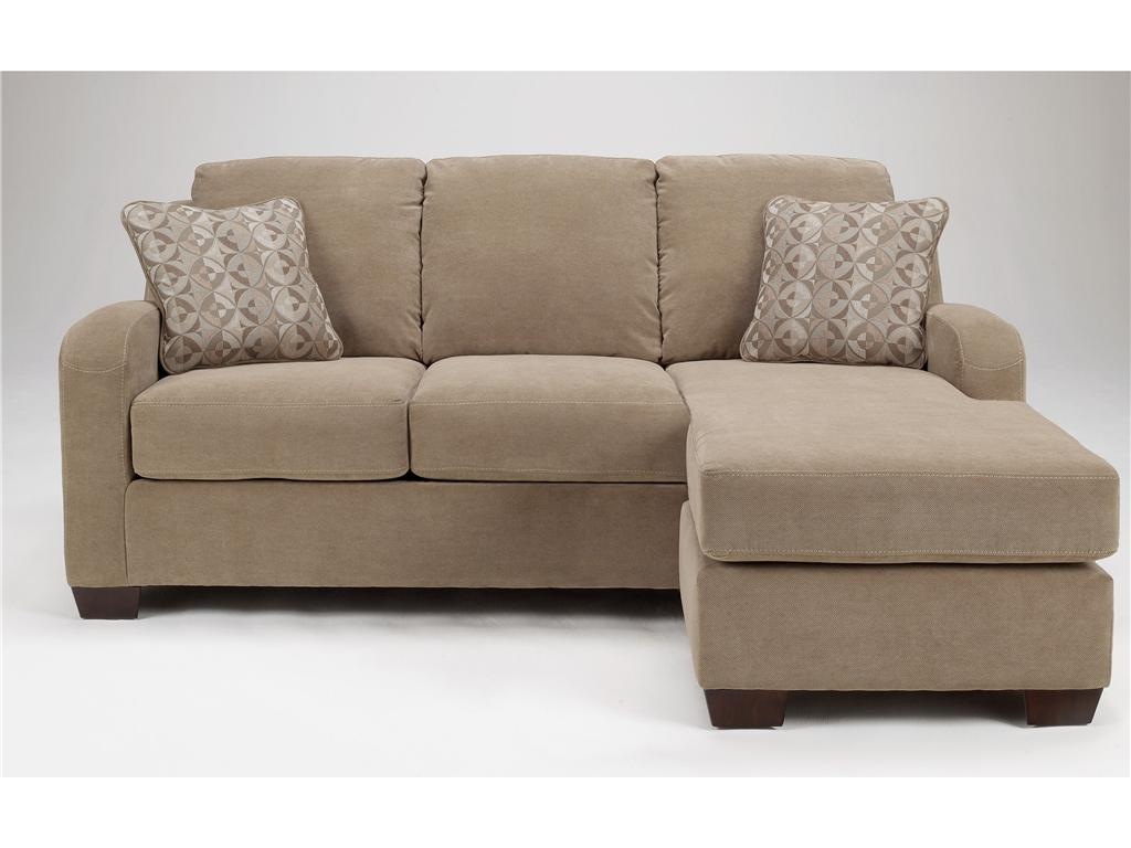 Geordie sofa chaise ashley furniture for Ashley sectional with chaise
