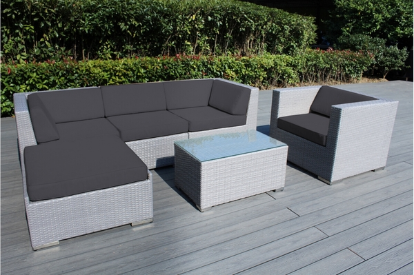 with ohana blue cover patio sectional cushions set furniture no sofa amazing collection assembly black free shop conversation outdoor deal piece wicker