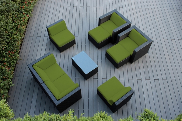 Beautiful Ohana Outdoor Patio  Furniture 9 pc couch set.  Additional $250 off.  Now at $1609