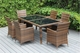 Ohana Outdoor Patio Wicker Furniture  Dining Mixed Brown Set 6 Chairs.  Additional $200 off.  Now at $1399