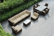 Ohana Outdoor Patio Wicker Furniture  Sofa and Dining  14 pc set.   Addtional $400 off.  Now at $2399