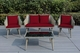 New: Ohana Sienna 4 Piece Wicker Patio Furniture Conversation  Sofa Seating Set: Additional $300 off Now at $1099