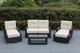 Ohana Tall Luxury Patio Wicker Furniture Sectional  Sofa 7 pc  set with Sunbrella Cushion ( Tall Back ).  Additional $200 off.  Now at $1599