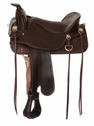 """15.5"""" to 18.5"""" Tucker Cheyenne Frontier Trail Saddle T67"""