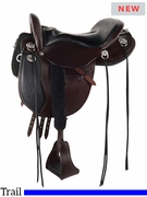"15.5"" to 18.5"" Tucker Horizon Nomad Trail Saddle 249 w/Free Pad"