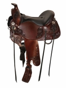 "15.5"" to 18.5"" Tucker Horizon Wanderer Trail Saddle 295 w/Free Pad"