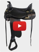 Gen II High Plains Trail Tucker Saddle 262 Review Video