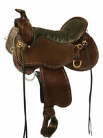Tucker Black Mountain Tooled Trail Saddle 261