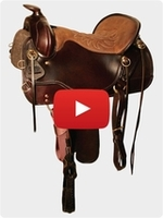 Tucker Cheyenne Frontier Trail Saddle L14 Review Video