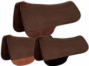Tucker Chocolate Felt Full Saddle Pad 49