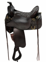 Tucker High Plains Floral Tooled Trail Saddle 260