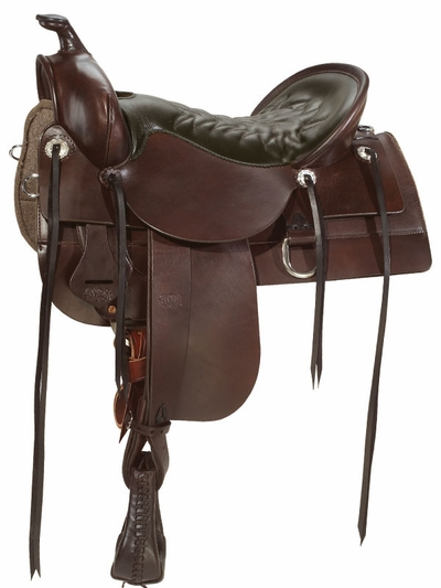Tucker Old West Smooth Trail Saddle 277
