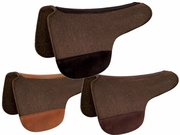 Tucker Chocolate Felt Round Saddle Pad 48