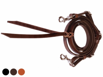Tucker Adjustable Trail Reins 5/8 X 9 211