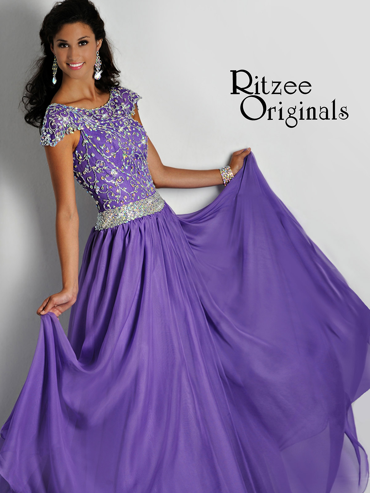 Pageant Dress with Sleeves
