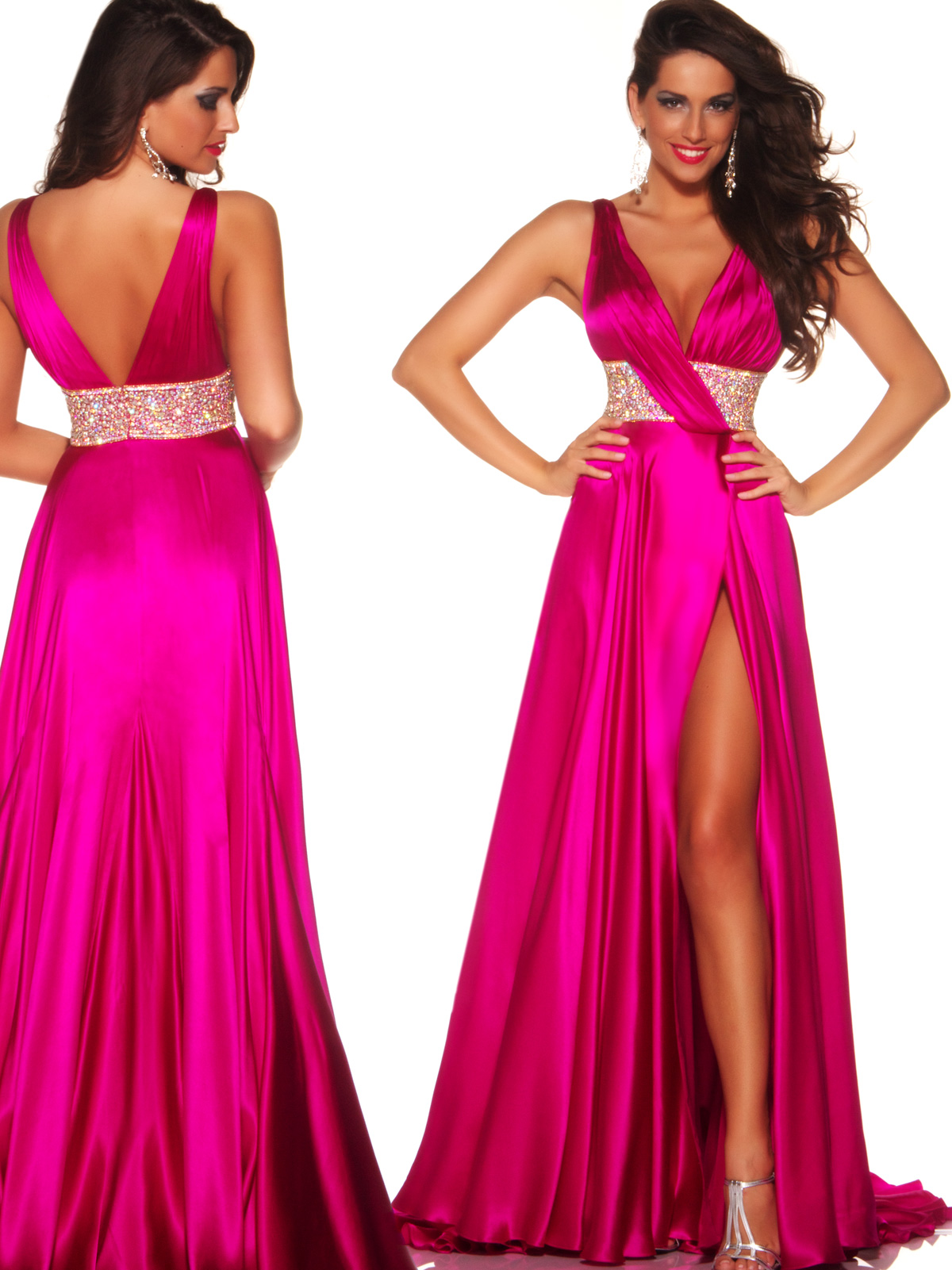 Mac Duggal Celebrity Pageant Dress 81461P: PageantDesigns.com