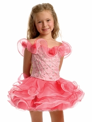 Glimmering Girls Cupcake Pageant Dresses from Perfect Angels and Tiffany Princess