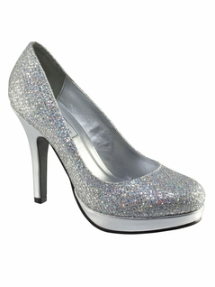 5dd10369f07 Glittering 4 Inch Heel Pageant Shoes 396 Candice By Touch Ups