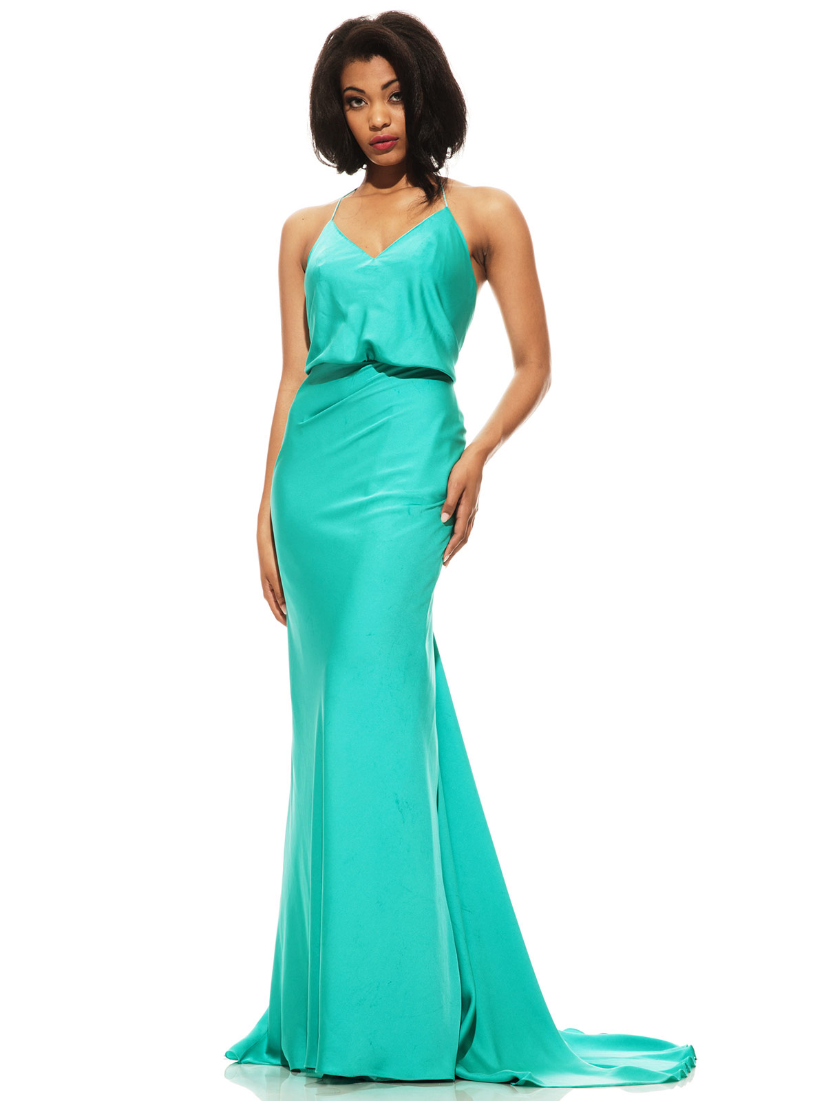 Johnathan Kayne 524 Spaghetti Straps Pageant Dress|PageantDesigns.com