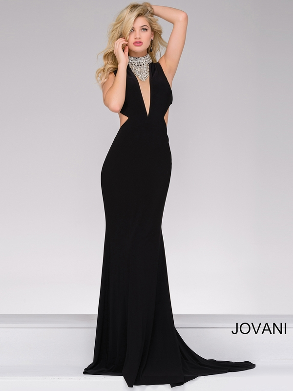 Jovani 36971 Necklace Jersey Pageant Dresspageantdesigns