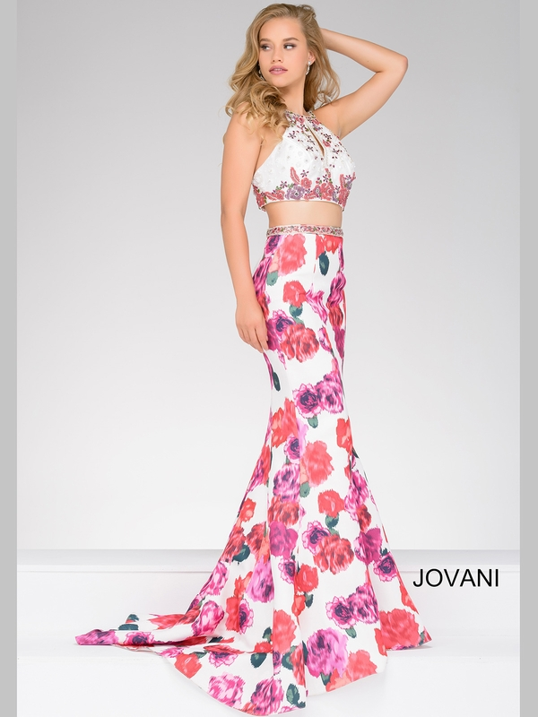 Jovani 45570 Fitted Lace Pageant Dresspageant