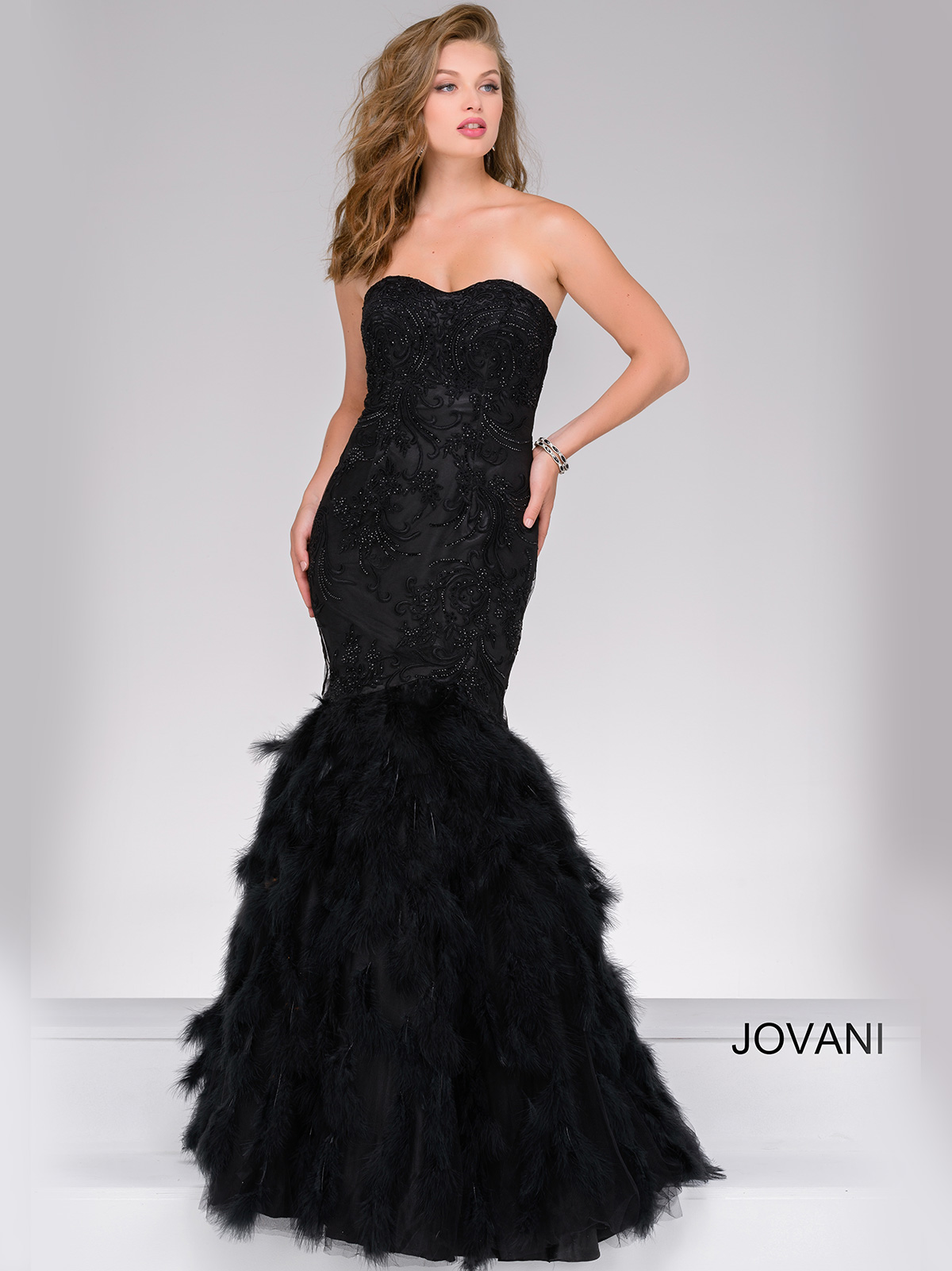 Jovani 46933 Sweetheart Mermaid Pageant Dress|PageantDesigns.com