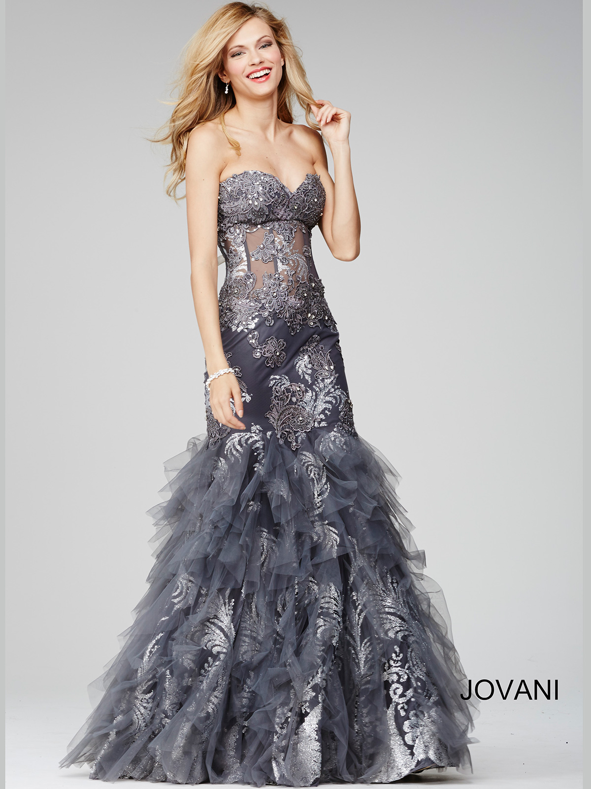 Jovani 88893 Sweetheart Mermaid Pageant Dress|PageantDesigns.com