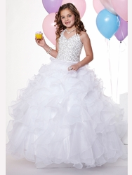 Little Girls Glitz Pageant Dresses in Pretty, Punchy Shades!
