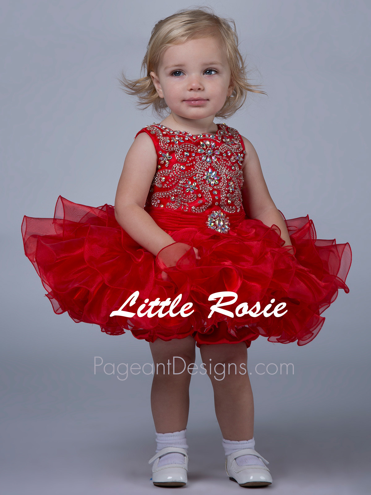 Best Little Rosie Baby Pageant Dresses | PageantDesigns.com