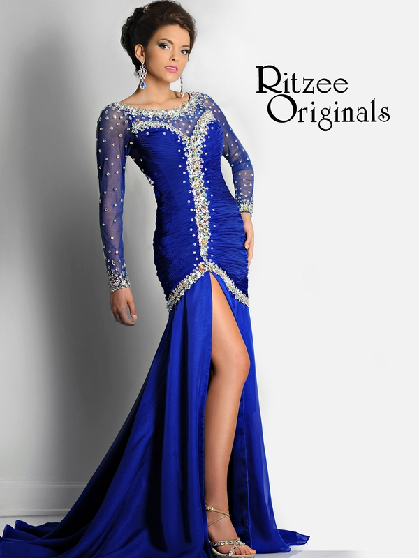 Long pagent dresses