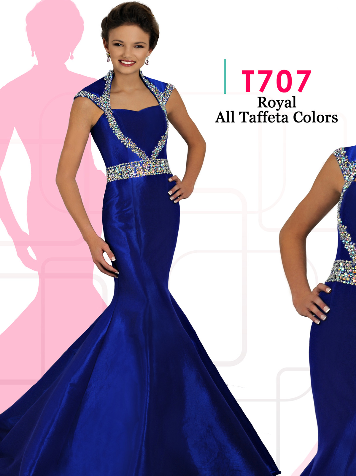 Teen Pageant Dresses | PageantDesigns.com