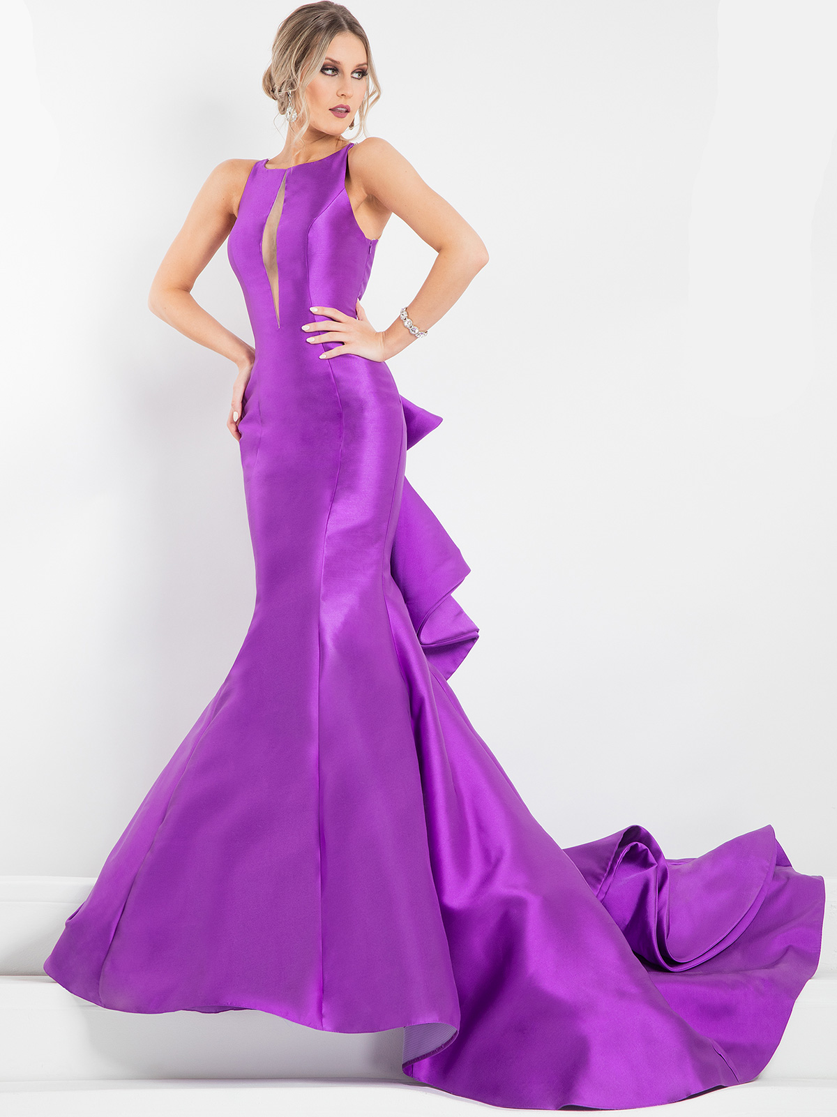 Prima Donna 5898 Plunging Bodice Pageant Dress|PageantDesigns.com