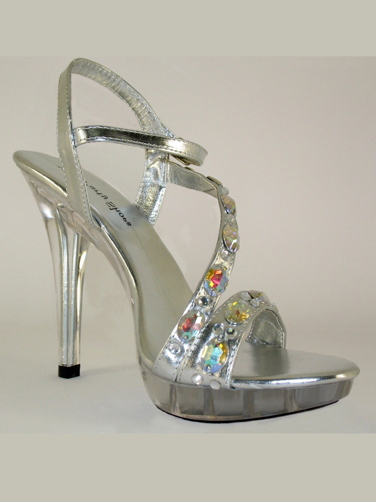b7166a85098 Silver Pageant Heels Your Party Shoes Estelle 313