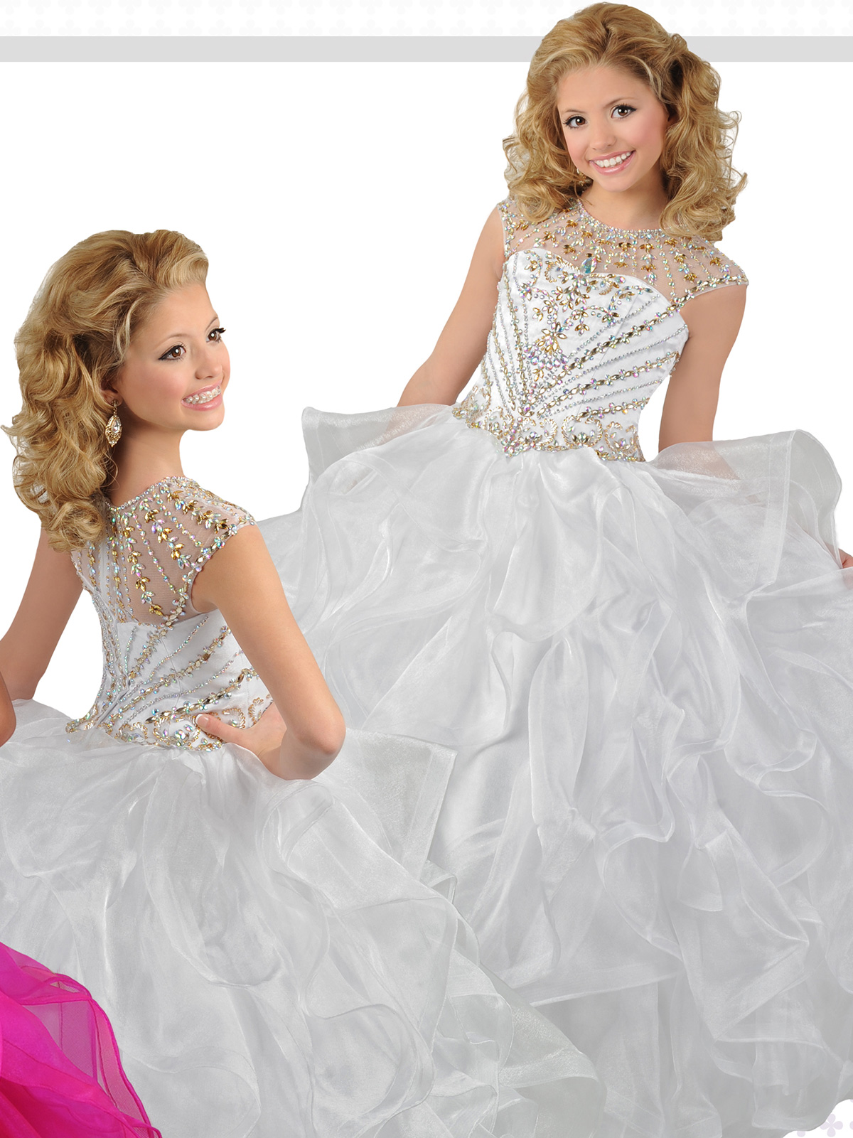 Ritzee Girls Children's Pageant Dresses available at Ready set Grow.
