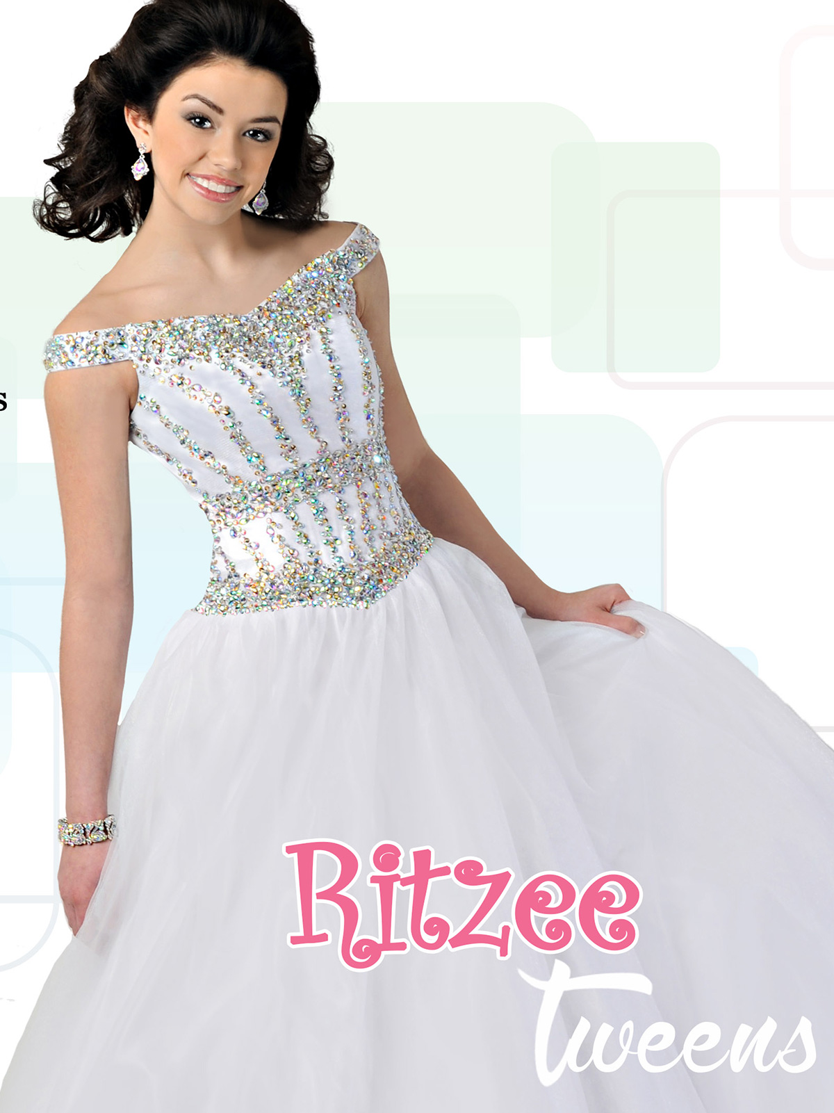 Winning Ritzee Junior High Pageant Dress T703|PageantDesigns.com