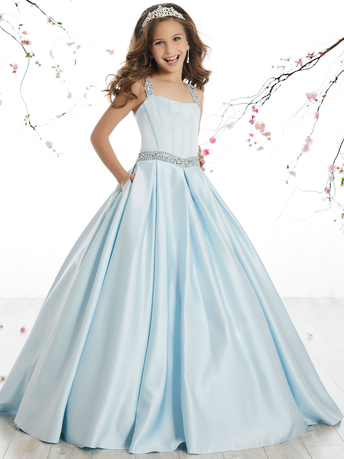 Tiffany Princess Winning Pageant Dresses for Girls | PageantDesigns.com