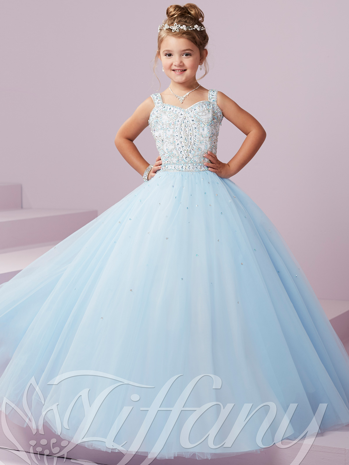 Tiffany Princess 13494 Sweetheart Pageant Gown|PageantDesigns.com