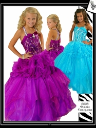Toddler Glitz Pageant Dresses to Complement Every Hair Color!